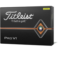 2019 Pro V1 Yellow Golf Balls