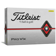 2019 Pro V1X Yellow Golf Balls