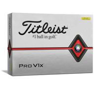 2019 Pro V1X Yellow Golf Balls
