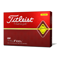 2019 TruFeel Yellow Golf Balls