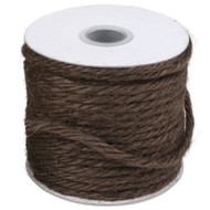 "3.5""mm X 25 Yards Burlap Jute Rope Twine - Choose From 8 Colors (Brown)"
