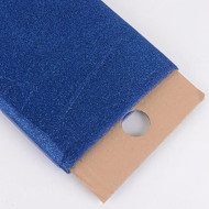 "54"" Inch X 10 Yards Premium Glitter Tulle Fabric Bolt (Navy Blue)"