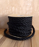 AK-Trading 6mm x 10 Yards Jute Rope Cord Twine (Black)