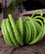 "AK-Trading Decorative Jute Wired Rope 1/4"" X 9 Yards (Apple Green)"
