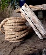 "AK-Trading Decorative Jute Wired Rope 1/4"" X 9 Yards (Natural)"
