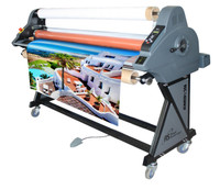 "RSC-1402HW 55"" Cold/Heat-Assist Laminator With Wind-Up"