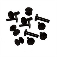 Fastin™ Poly Binding Posts & Screws (Black)