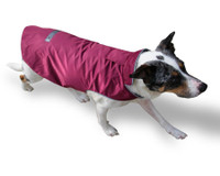 Waterproof Coat Covered Leash Hole Opening