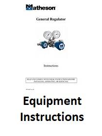 equipment instructions