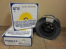 "Pinnacle Alloys PREMIER S-6 (ER70S-6) .052"" x 44# MIG 05270S6M44"