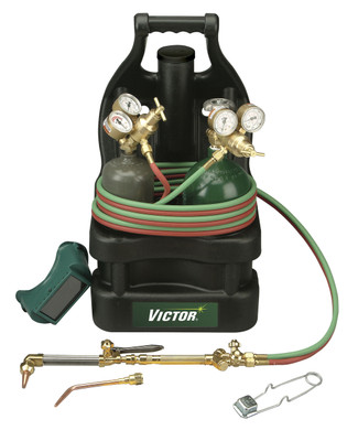 Victor Outfit Tote CSV-CPT with cylinders 0384-0939