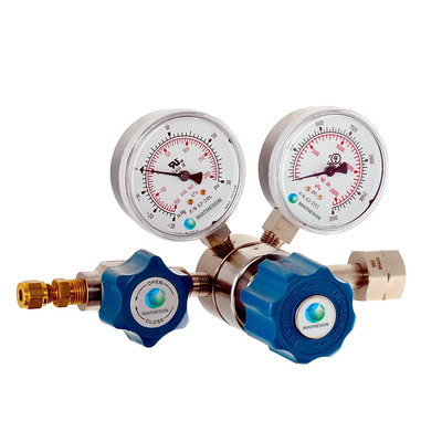 Model 3396 Single-Stage High-Purity Absolute Pressure Brass Regulator