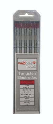Weldcote Tungsten 5/32x7 2% Thoriated 10Pk