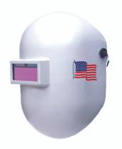 Welding Helmet - Pipeliner™ Superglas® White Fiberglass 110WH
