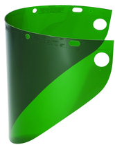 "Faceshield Window Wide View Dark Green .060''x 8'' x 16-1/2"" - 4178DGNBP"