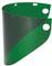"""Faceshield Window Wide View Dark Green .060''x 8'' x 16-1/2"""" - 4178DGNBP"""