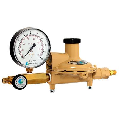3700 Series Low Pressure Line Regulator - Cast Zinc