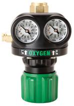 Victor Regulator Edge ESS4-125-540 5-125 PSI CGA-540 Oxygen, 0781-5127
