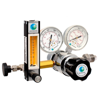 Model 81-F Series Dual-Stage General Purpose Regulator with Flowmeter Combination