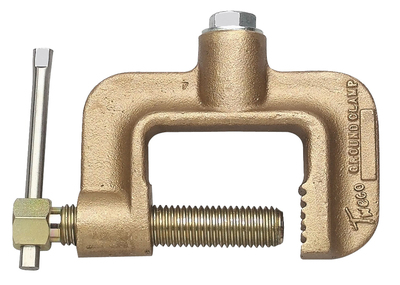 Tweco Roto-Work GC-600-50 Ground Clamp (500A, 1/2 Cap Screw) Copper Alloy 92101150