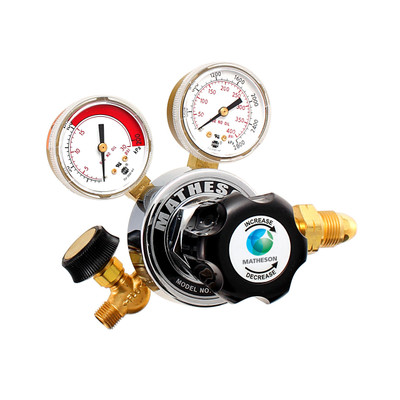Model 18 Series Single-Stage General Purpose Brass Regulator
