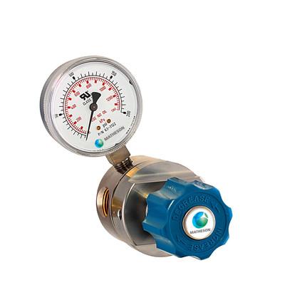 Model 3240 Series High-Purity/High Flow Brass Line Regulator
