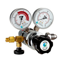 81LA-510 Acetylene Dual-Stage General Purpose Regulator, Brass