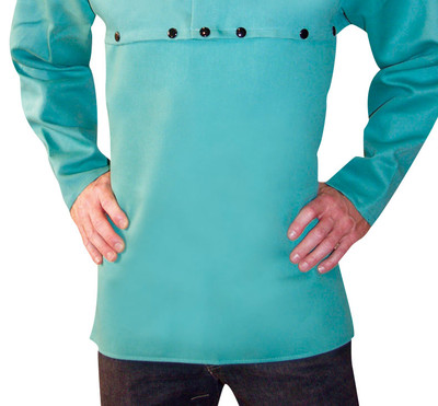 Tillman Cotton Bib shown with 6221 Sleeves attached