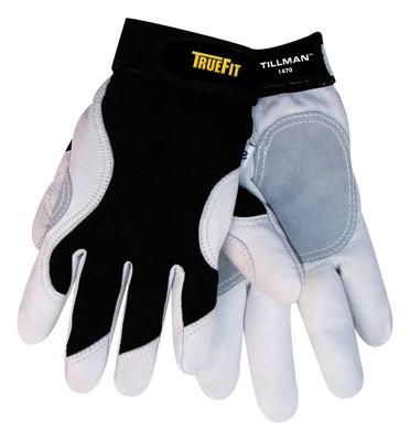 Goatskin Gloves with Spandex back, Tillman 1470