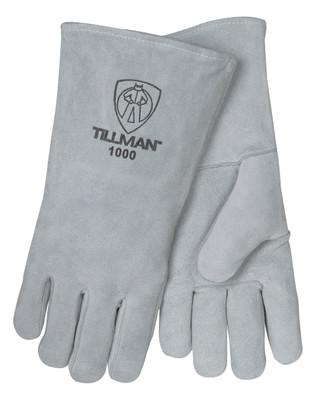 Tillman 1000 Cowhide Split Stick Welding Gloves, Large