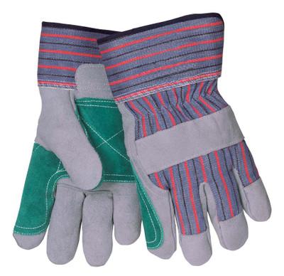 Tillman 1515XX Economy Cowhide Split Double Palm Work Gloves, Large
