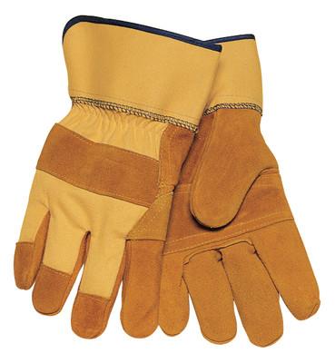 Tillman 1500YPP Cowhide Split 3-Piece Palm Work Gloves, Large