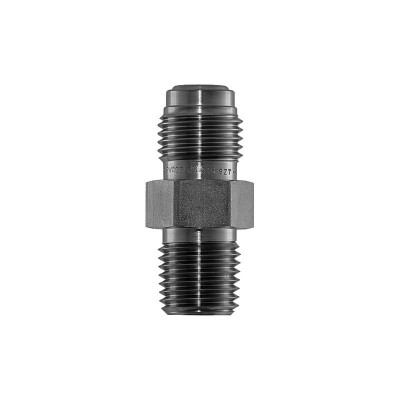 """VCR Connector, 1/4"""" MVCR by 1/4"""" MNPT, SS"""