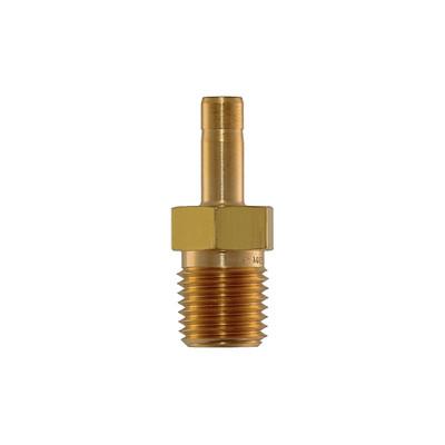 "Tube Adapter, 1/4"" by 1/4"" MNPT, Brass"