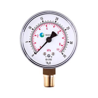 Very Low Pressure Gauge (Brass)