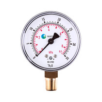 Very Low Pressure Gauge (Brass)