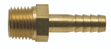 Hose Barb to NPT adaptor, MSF 541BMS, representative of MSF 543BMS