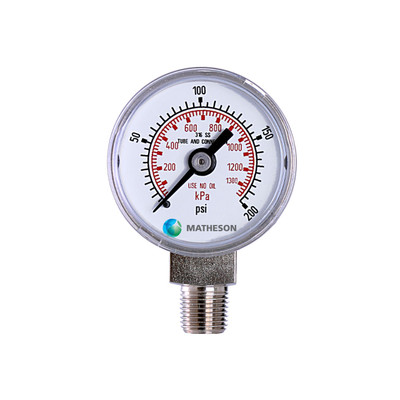 Small Pressure Gauge (SS)