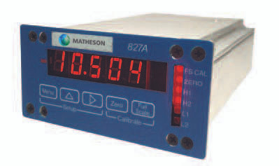 827A Single Channel Mass Flow Controller