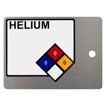 NFPA Label on Plate (Horizontal)