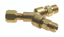 """Y"" Connector without Shut-Off Valves"