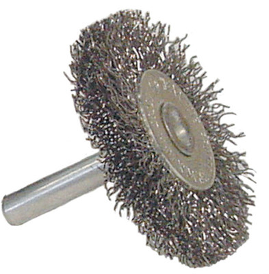 Crimped Wire Radial Wheel Brush