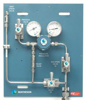 PAN-5300 Series Analytical Grade Panel (3 valve)