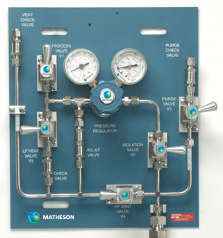 PAN-5500 Series Analytical Grade Panel (5 valve)