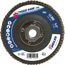 Weiler Tiger Paw HD Flap Disc