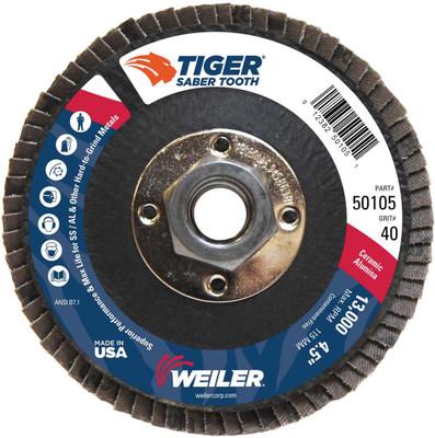 Weiler Saber Tooth Flap Disc