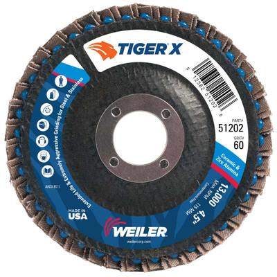 Weiler Tiger X Flap Disc