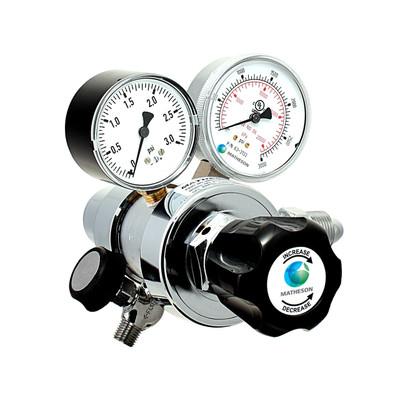 Model 81-2 Dual-Stage General Purpose Low Delivery Pressure Brass Regulator