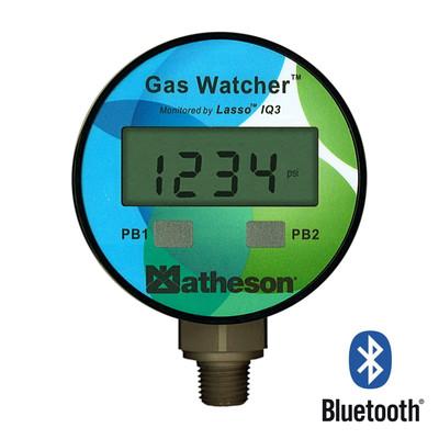 Gas Watcher - Bluetooth Pressure Gauge, 3000 psig (SS)