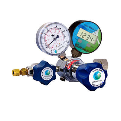 3530AW Series Gas Watcher Single-Stage High-Purity Regulator - Brass